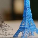 Primeira caneta a desenhar em 3D