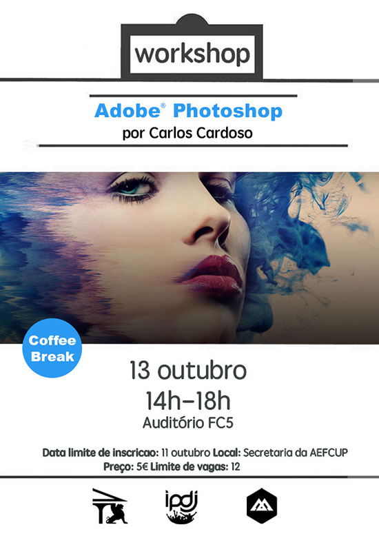 Workshop Photoshop Porto – AEFCUP