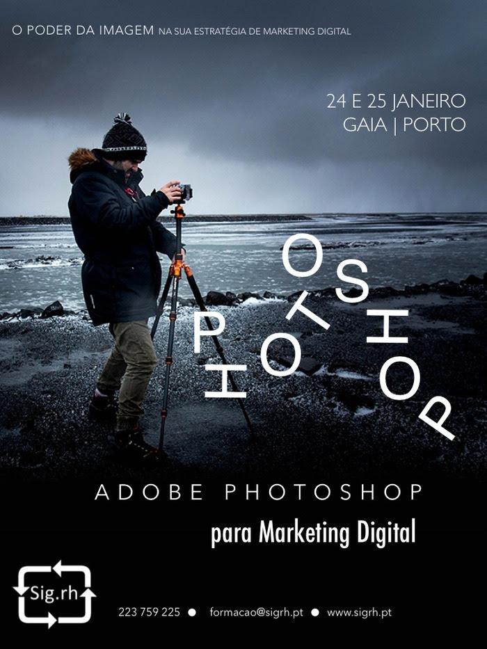Curso Photoshop em Vila Nova de Gaia