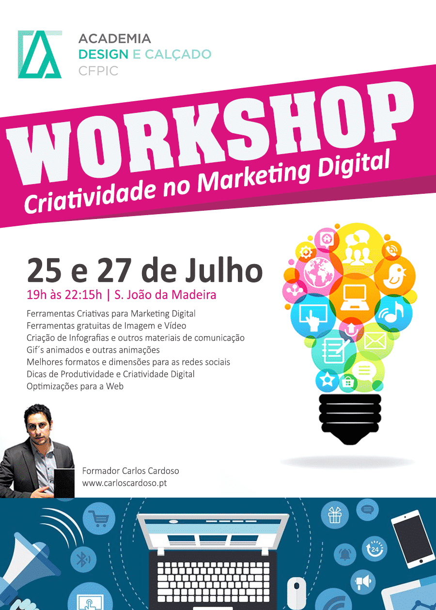 Workshop Criatividade no Marketing Digital