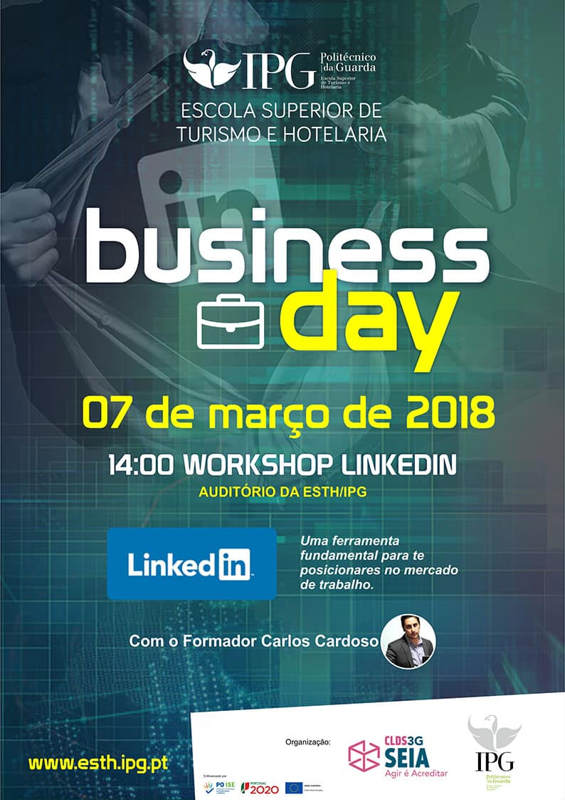 Workshops Business Day 2018 -Escola Superior de Turismo e Hotelaria de Seia