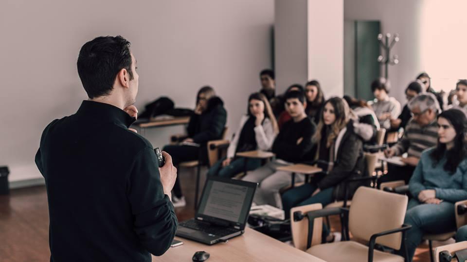 Workshop palestras formador