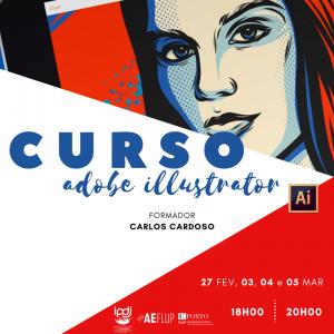 Workshop Illustrator FLUP (Faculdade de Letras da Universidade do Porto)