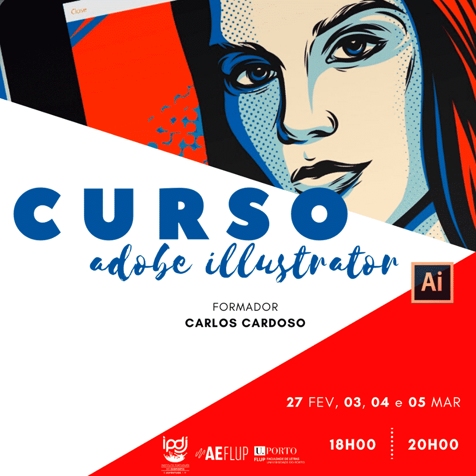 Workshop Illustrator FLUP (Faculdade de Letras da Universidade do Porto)